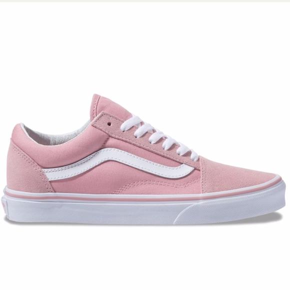 Vans Light Pink Old Skool Vans. M 5bf9ee7ddf0307b37dd23ae3 b099a1af770a